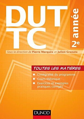 DUT TC 2e année - Toutes les matières par Pierre Marquès