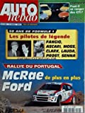 AUTO HEBDO [No 1181] du 31/03/1999 - 50 ans de formule 1 - les pilotes de legende...