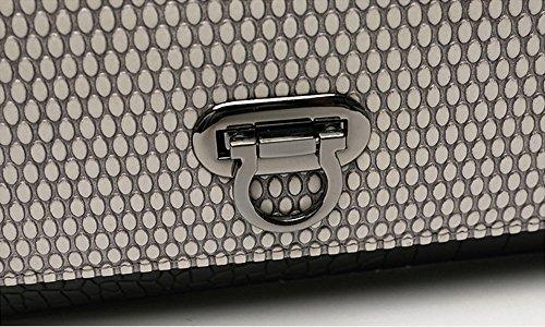 Handtasche, Kettenpaket, Europa und die United States Handtasche, Abendtasche, große Kapazität Europa und die Vereinigten Staaten Hand Tasche ( Farbe : Grau ) Grau