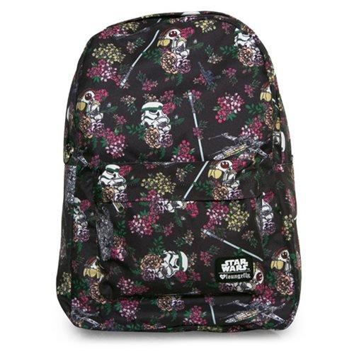 Loungefly disney Rücksack Backpack Star Wars Floral Stormtrooper