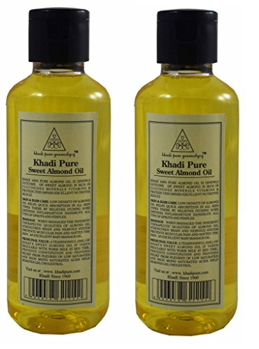 Khadi Pure Herbal SWEET ALMOND OIL BY GRAMODYOG