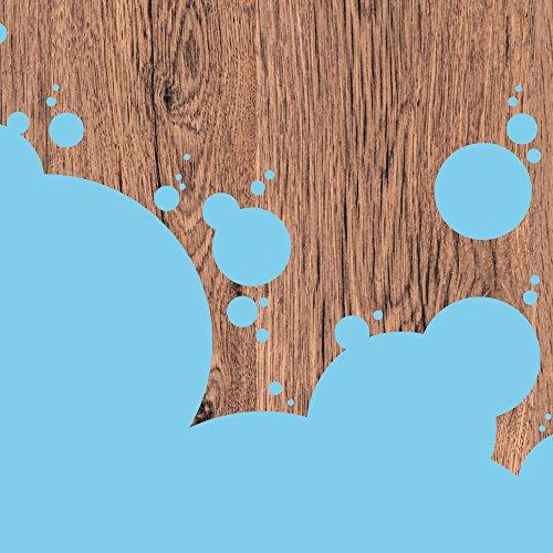 Apple iPhone SE Case Skin Sticker aus Vinyl-Folie Aufkleber Holz Kleckse Farbe DesignSkins® glänzend