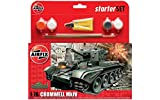 Airfix A55109 Cromwell Cruiser 1:76 Scale Model Small Starter Set