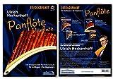 Panflöte Set - Schule von Ulrich Herkenhoff für Anfänger - Lehrbuch 1, Spielstücke 1, DVD, 2 x CDs - Echo Verlag EC1018 9790501341436