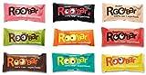 Roo 'bar rohkost cerrojo con DV-950 Ecomoods 30 g x 9 pieza (bio, Vegano), ROH) Set 9 variedades (9 x 30g)