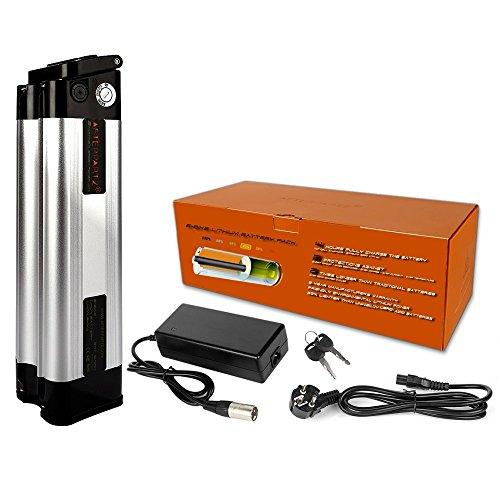 After Partz® Poisson 24V/36V 10.4Ah E-Bike Batterie Pack + Chargeur Samsung 18650UL UE