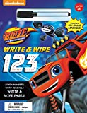 Nickelodeons Blaze and the Monster Machines Write & Wipe 123: Learn Numbers with Reusable Write & Wipe Pages!