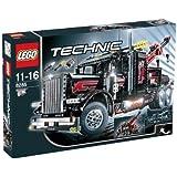 LEGO Technic 8285 duży czarny truck holowniczy