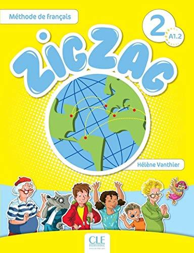 Zigzag niveau a12 livre per la scuola elementare con cd - audio