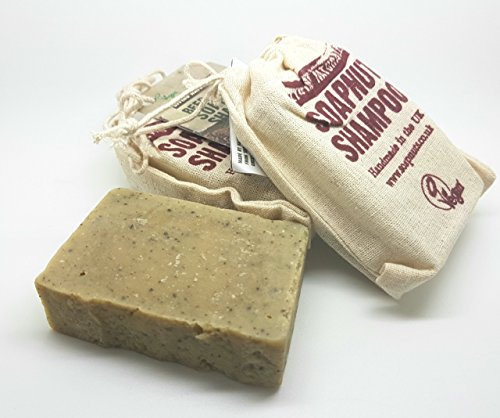 Living Naturally Beer & Bay Soapnut Shampoo Bar