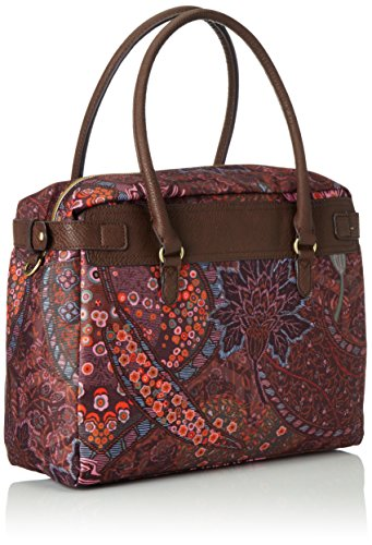 OililyOilily M Carry All - Borsa con Maniglia Donna Marrone (Braun (COFFEE 843))