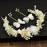 MDRW-Bridal Hochzeit Ballsaal Haarnadel Haarschmuck Kopfschmuck Hand Simulation Heu Sterne Libellen Brautkleider Ehering