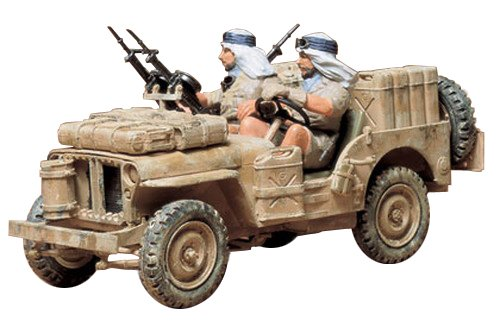 35033 1/35 british special air service jeep (japan import)