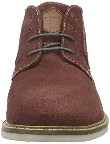 bugatti Herren F7536pr3 Desert Boots Rot (dunkelrot 303)