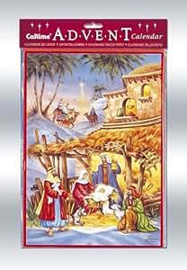 Religious Advent Calendar with Env
