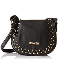 Caprese Women's Sling Bag (Black)