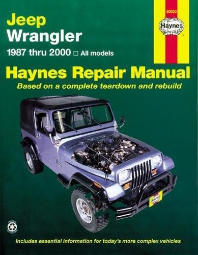 Jeep Wrangler (Haynes Automotive Repair Manua) por Haynes Publishing
