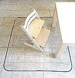 Sunnybaby 10351 Schmutzschutzfolie, Fleckenschutz, Bastelunterlage für Tisch oder Fußböden, transparent
