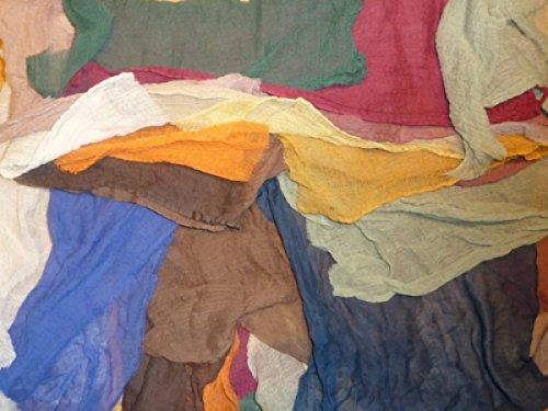 Gaze - Gazestoff - 5 Meter - Sortierte Farben - für Biblische Erzählfiguren und Egli-Figuren
