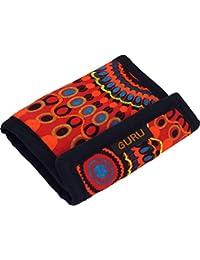 ed5fb73c81 Guru-Shop Besticktes Portemonnaie Retro - Rot, Herren/Damen, Baumwolle,  10x12 cm, Portemonaise aus…