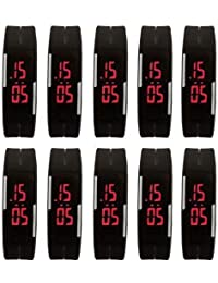 FREE FREE( Set Of 25 Pcs )LED BAND WATCH WITH + 2 Video Game FREE OFFER Multi Colour Best Offer Low Price For...