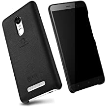 Xiaomi Redmi Note 3 Pro Special Edition Case,Lenuo Protective Shell PC and Premium PU Leather Slim Back Cover Case for Xiaomi Redmi Note 3 Pro Prime SE Global Version 152 mm - Black
