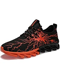 Unisex - Erwachsene Herbst Winter Sneaker Sport Outdoorschuhe Turnschuhe Laufschuhe Freizeitschuhe ( Vier Farben ) (40, Orange)
