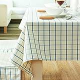 LILILI Fabric Nordic einfache Tabelle Tuch rechteckige TV-Standfuß-B 140 x 200 cm (55 x 79 Zoll)