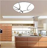 HAIHAHA Die Nordischen led Deckenleuchte leuchten Schlafzimmer modernen minimalistischen Wohnzimmer helle Atmosphäre im Restaurant Beleuchtung LED-Brot Deckenleuchte acryl Ornamente die Meisten, 380 mm