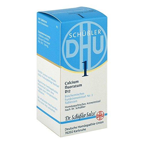DHU Schüßler-Salz Nr. 1 Calcium fluoratum D12, 200 St. Tabletten