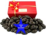 Dark Chocolate Brazil Nuts with FREE UK delivery. 1 kilo of delicious real dark chocolate covered quality brazils in a quality presentation box