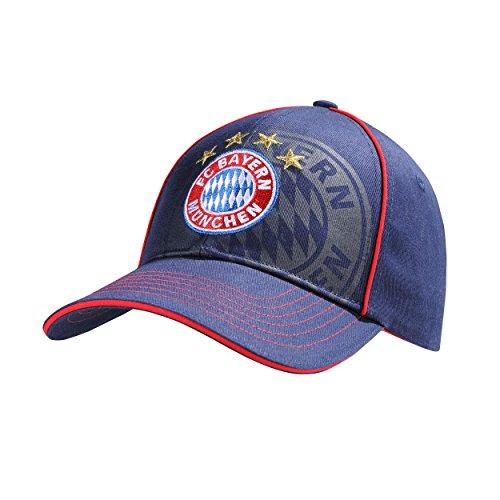 Gnome Hüte (Kinder Baseballcap Fan FC Bayern MÜNCHEN FCB + gratis Sticker München forever, Cap, Basecap, Base-Cap, Mütze, Hut, chapeau, sombrero, Baseballcap,)