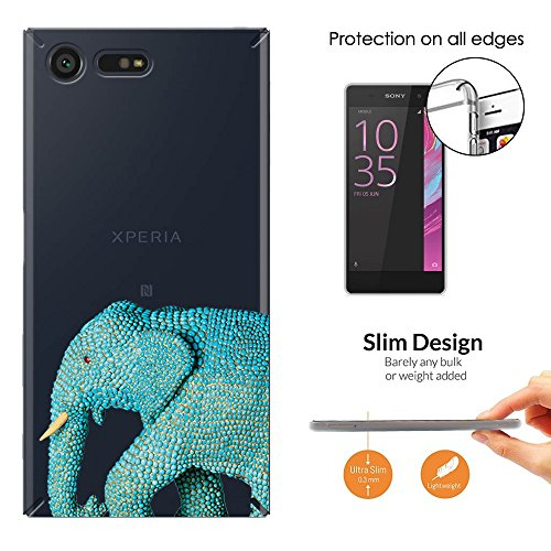 c00905-cool-wildlife-blue-indian-african-elephant-tusks-design-sony-xperia-x-compact-fashion-trend-0