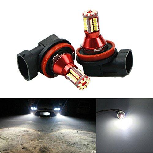Usato, FEZZ Auto LED Lampadina Fendinebbia H9 H11 3014 57SMD usato  Spedito ovunque in Italia