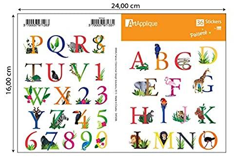 Alphabet letters Waterproof Decal Stickers for Phones, Snowboard, Laptop Luggage, Bicycle, Skateboard, Toys, Suitcases Motorbike, Guitar, Car and