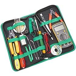 Cablematic - Kit de herramientas para dispositivos electrónicos de 15 piezas modelo BEST-113