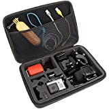 Caseflex GoPro Accessories Portable Protective Hard Shell Carry Case (320 x 220 x 65 mm)