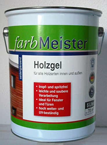 Farbmeister Holzgel - Kiefer 5L seidenglänzend