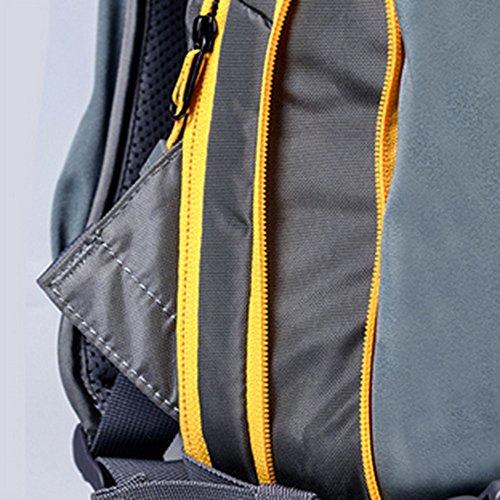 Roswheel Borsa 20L Multi Purpose Outdoor Sports antipioggia spalla Zaino in nylon biciclette Giallo giallo
