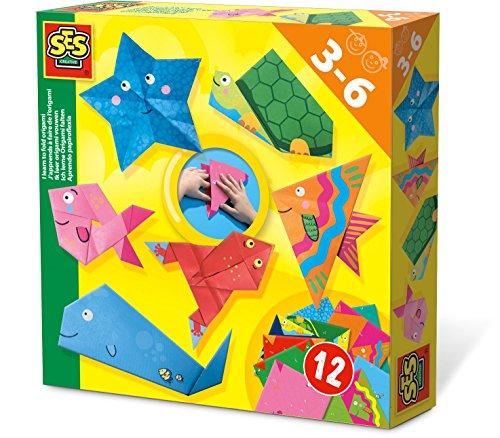 SES Creative Aprendo papiroflexia - Sets Origami para niños (3 año(s), 6 año(s), Países Bajos, CE, 200 mm, 40 mm)