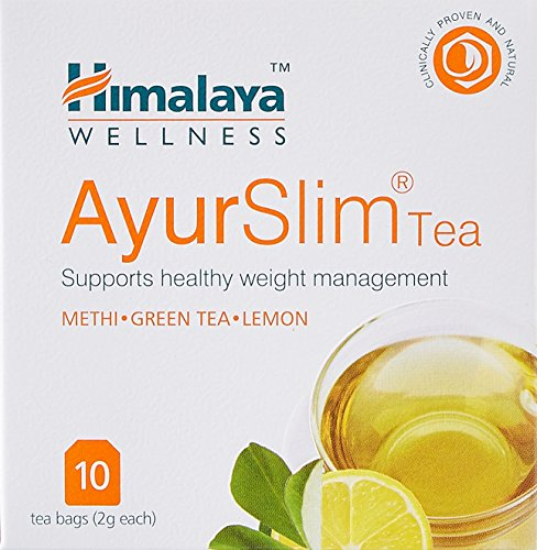 Himalaya Ayur Slim Tea - 10 Count (Pack of 4)  available at amazon for Rs.360