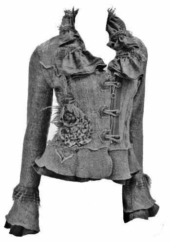 Damen Strickjacke Gardigan kurz Farbe: Schwarz #8837 (S/M)