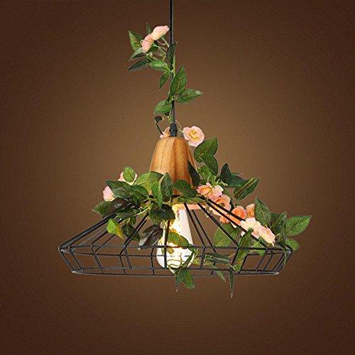 Kostüme Studio C (GBT Pastoral-Stil Restaurant Café-Pflanze Blumen dekorative Lichter , black , C (LED-Leuchten, warmes Licht, weißes Licht, Kronleuchter, Innenbeleuchtung, Außenleuchten,)