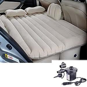 Letto materasso divano auto sedili posteriori gonfiabile for Materasso per auto