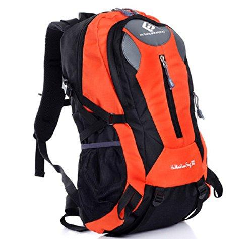 Yueer 30L Wasserdicht Wandern Reisen Bewegung Schultern Männer Und Frauen Im Freien Erholung Wandern Backpacking,B G