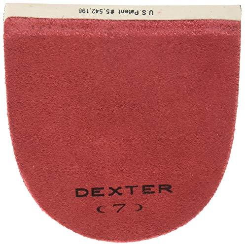 Dexter H7 Lederabsatz, Bowling-Zubehör, Rot