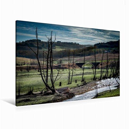Premium Textil de lienzo 45cm x 30cm La Vieja lecho Horizontal, 120 x 80 cm por Alain Gaymard