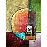 Four Seasons Abstract - Pintura al óleo pintada a mano sobre lienzo - Excelente calidad y la artesanía