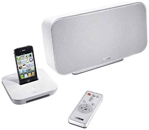 Canton Starter Pack your_Dock / your_Solo schnurlos Apple iPod/iPhone Docking station weiß