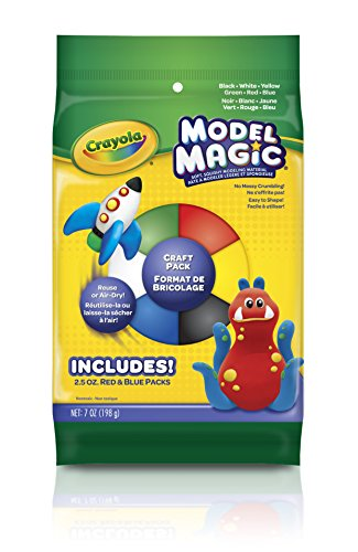 Crayola Crayola Model Magic (Crayola Model Magic Craft Pack 7oz-Assorted Colors)